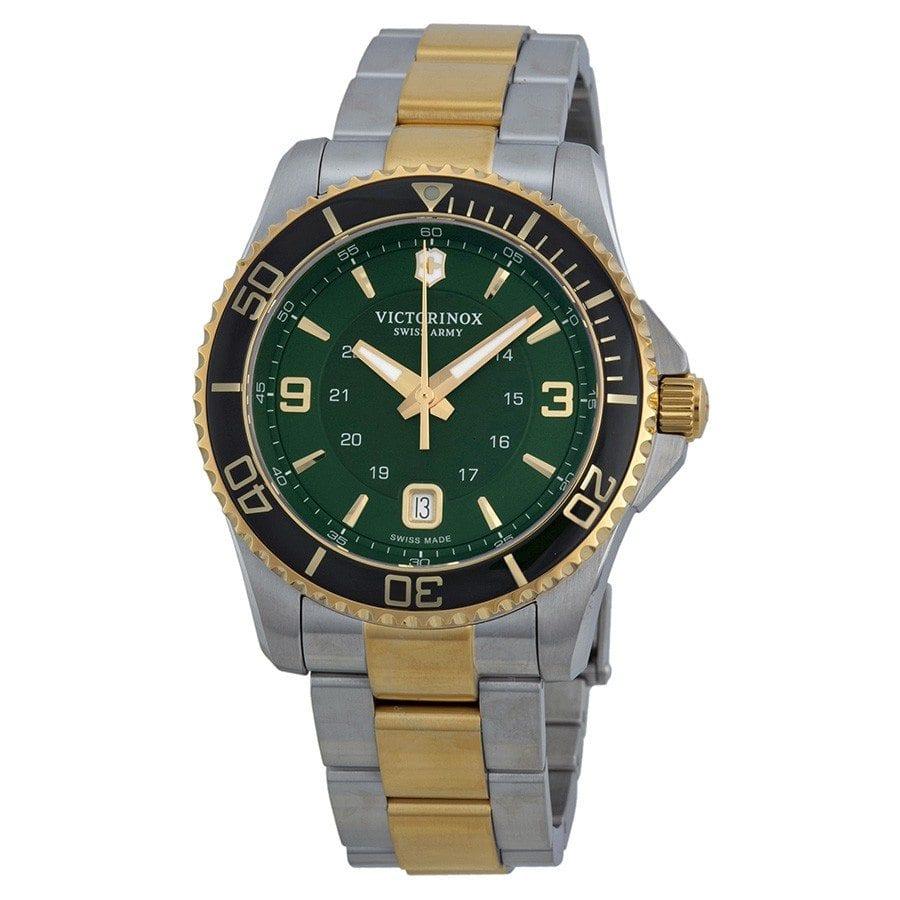 Casio Edifice Era 100pb 1av Victorinox Swiss Army Maverick Gs Green Dial Twotone Stainless Steel Mens Watch 241605